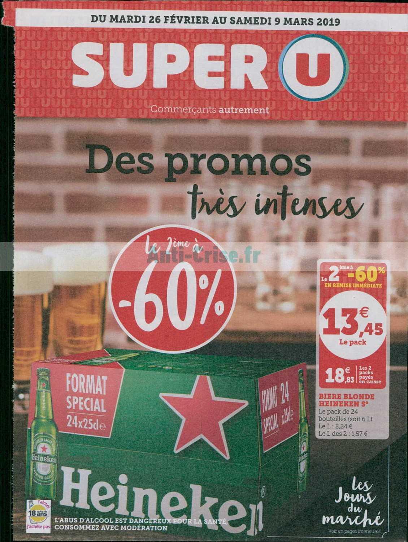Catalogue Super U du 26 février au 09 mars 2019 (Promos Intenses)
