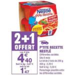 Bon Plan P'tite Recette de Nestlé chez Carrefour Market (19/02 - 03/03) - anti-crise.fr