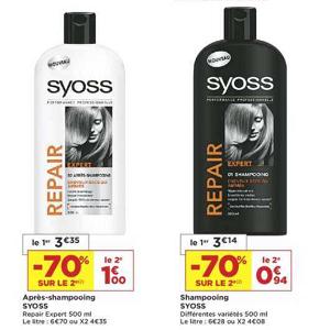 Bon Plan Shampoing et Après-Shampooing Syoss chez Casino (05/02 - 17/02) - anti-crise.fr