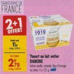 Bon Plan Yaourts 1919 Danone chez Carrefour (05/03 - 08//03) - anti-crise.Fr