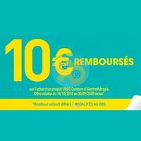 Offre de Remboursement Urgo : 10€ sur Ceinture d'Electrothérapie