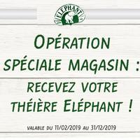 Bon Plan Elephant : 1 Théière Offerte