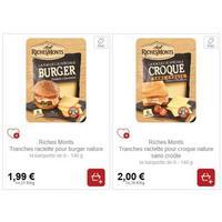 Tranches Raclette Burger ou Croque RichesMonts partout