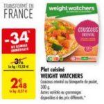 Bon Plan Plat Cuisiné Weight Watchers chez Carrefour - anti-crise.fr