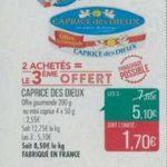 Bon Plan Caprice des Dieux Chez Match - anti-crise.fr