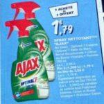 Bon Plan Nettoyant Ajax Boost chez Leclerc - anti-crise.fr