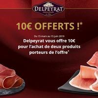 Offre de Remboursement Delpeyrat : 10€ Remboursés en Bons pour l'achat de 2 Produits