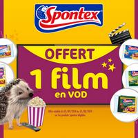 Bon Plan Spontex : 1 Film VOD Offert