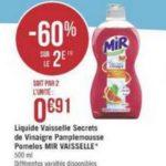 Bon Plan Mir Vaisselle chez Magasins U - anti-crise.fr
