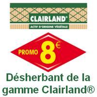 Offre de Remboursement Clairland : Jusqu'à 8€ Remboursés sur Désherbant