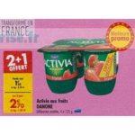 Bon Plan Yaourts Activia Fruits Danone chez Carrefour (05/03 - 11/03) - anti-crise.fr