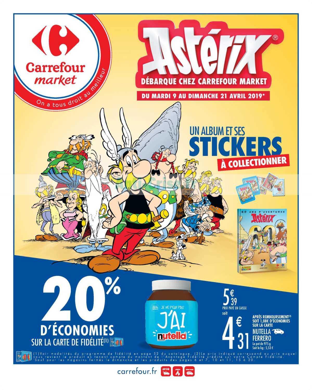 Catalogue Carrefour Market du 09 au 21 avril 2019