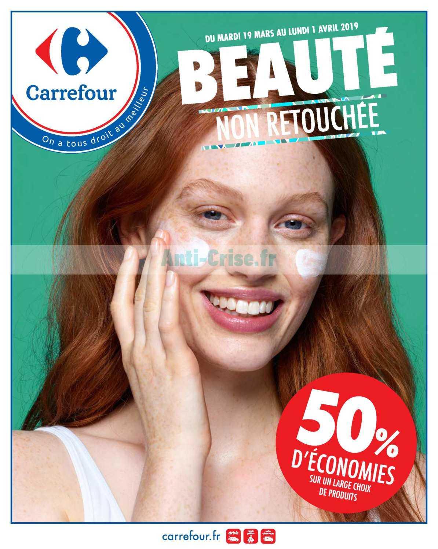 Catalogue Carrefour du 19 mars au 01 avril 2019 (Beauté)