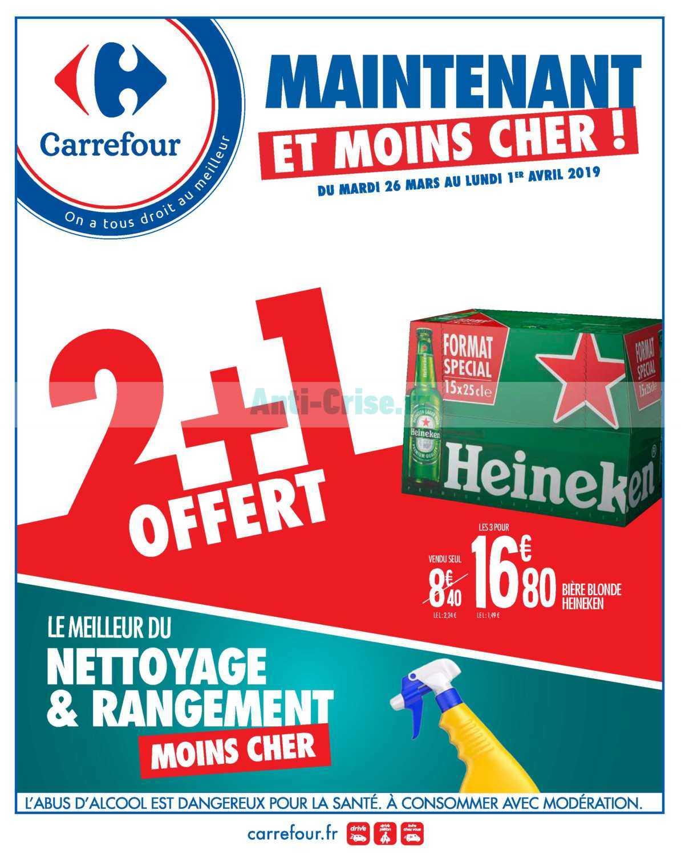 Catalogue Carrefour du 26 mars au 01 avril 2019