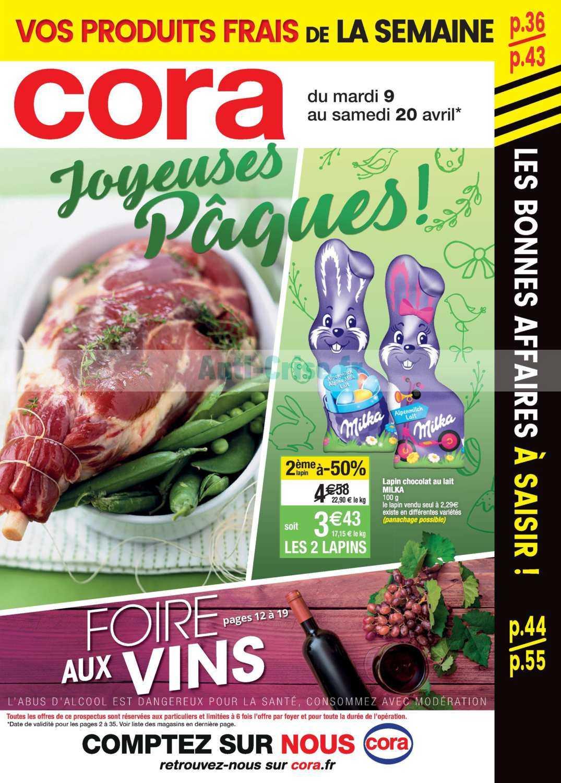 Catalogue Cora du 09 au 20 avril 2019 (Alsace)