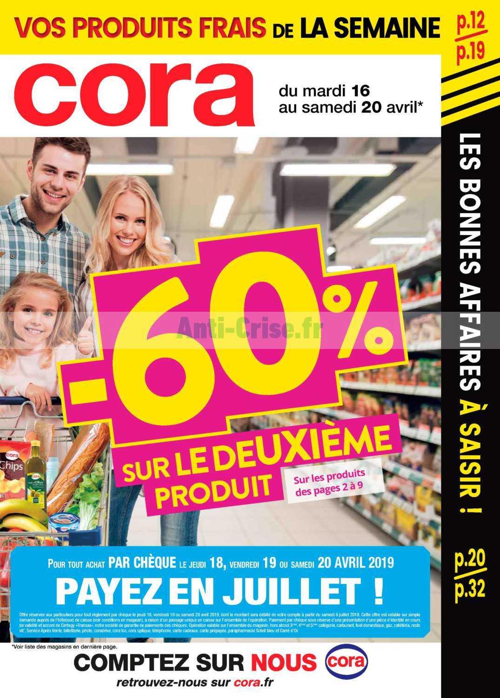 Catalogue Cora du 16 au 20 avril 2019 (Alsace)