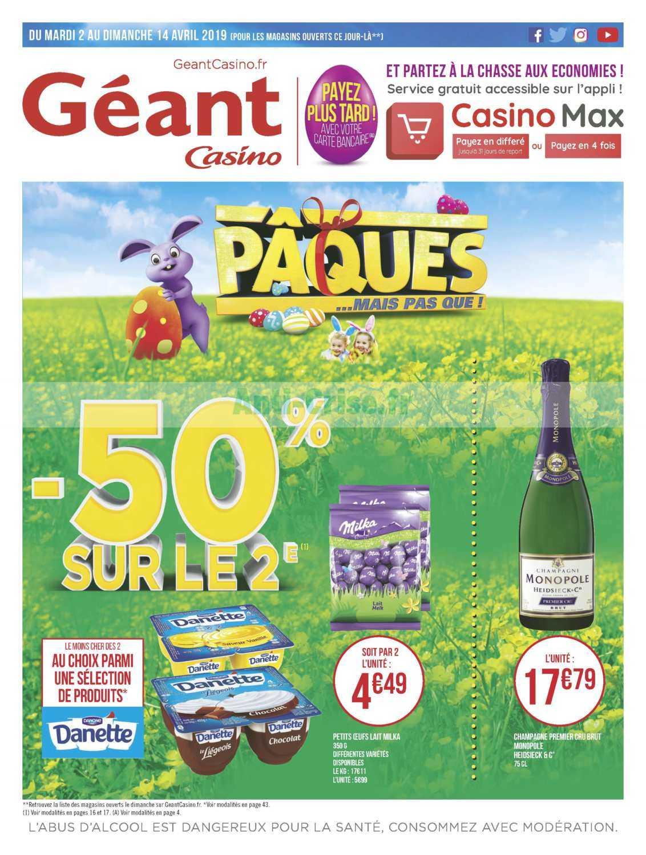 Concours Géant Casino Avril 2019