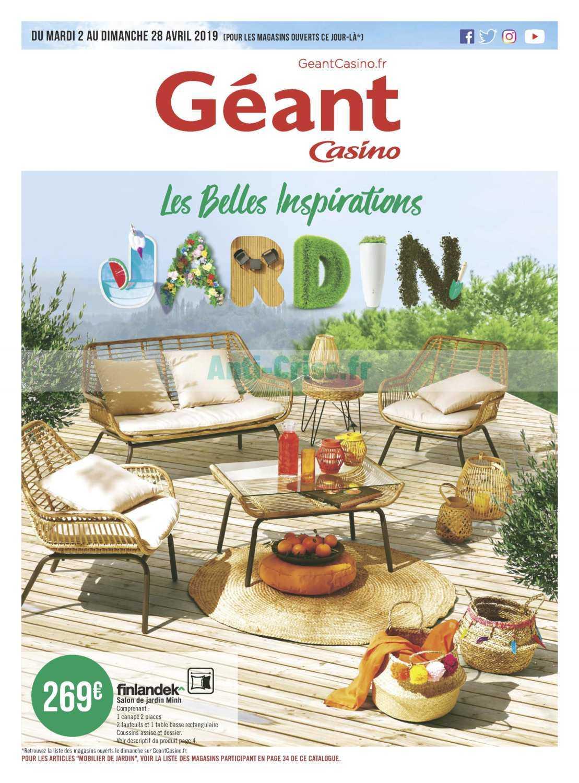 Catalogue Géant Casino du 02 au 28 avril 2019 (Jardin) - Catalogues ...