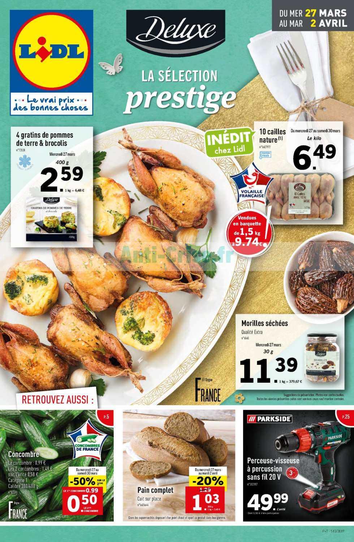 Catalogue Lidl du 27 février au 02 avril 2019