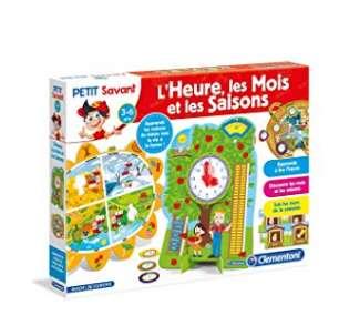 8,5€ le jeu éducatif Clementoni L'heure, Les Mois et Les Saisons
