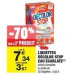 Bon Plan Lingettes Décolor Stop chez Carrefour Market (05/03 - 17/03) - anti-crise.fr