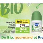 Bon Plan Déodorant Bio Monsavon chez Cora (19/03 - 20/03) - anti-crise.fr