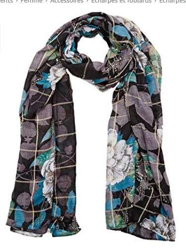 17€ le foulard Desigual Troy