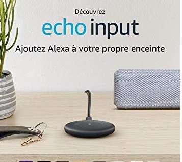 24,99€ le boitier Amazon Echo Input