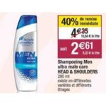 Bon Plan Shampoing Head & Shoulders chez Cora (19/03 - 13/04) - anti-crise.fr - anti-crise.fr