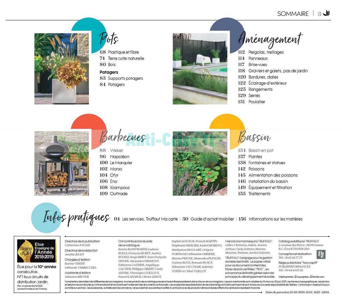 Catalogue Truffaut du 15 mars au 30 juin 2019 - Catalogues Promos ...