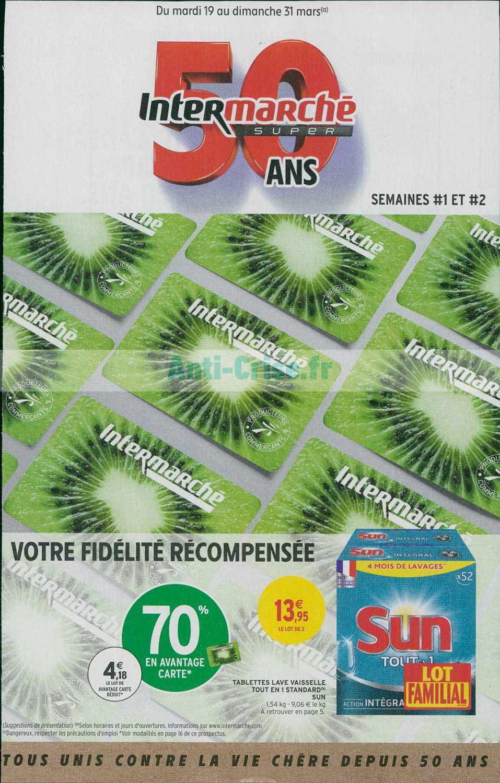 Catalogue Intermarché du 19 au 31 mars 2019 (Version Super)