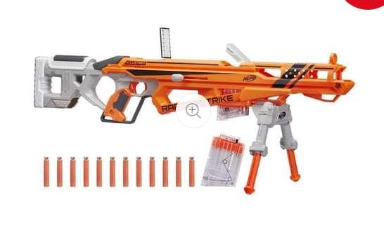 Jouet Nerf Fusil RaptorStrike à 24.9€ ( moitié prix)