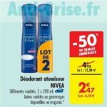 Bon Plan Déodorant Nivéa chez Carrefour (19/03 - 01/04) - anti-crise.fr