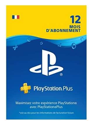 44,99€ l'abonnement 12mois Playstation Plus