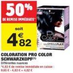 Bon Plan Coloration Pro Color de Schwarzkopfs chez Carrefour Market (05/03 - 17/03) - anti-crise.fr