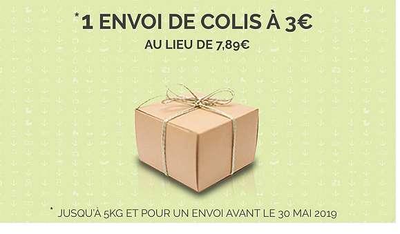 Bon plan Relais Colis : 3€ un envoi , 6€ trois envois
