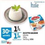 Bon Plan Ricotta Galbani chez Auchan (20/03 - 26/03) - anti-crise.fr