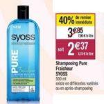 Bon Plan Shampoing et Après-Shampooing Syoss chez Cora (19/03 - 13/04) - anti-crise.fr