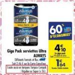 Bon Plan Tampons Tampax Compak chez Carrefour (19/03 - 01/04) - anti-crise.Fr
