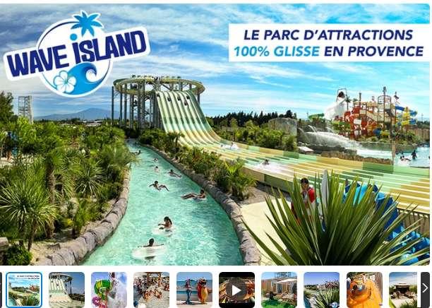 Entrées à prix réduits à Wave Island ( 36€ les 2 billets)