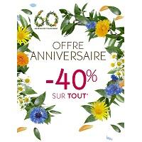 Yves Rocher : 40% de Remise sur Tout plus 1 Parfum en Cadeau