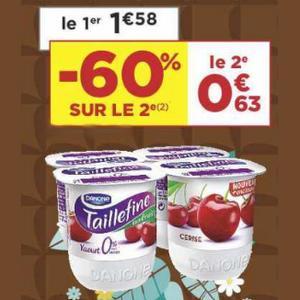 Taillefine Fruits Danone chez Casino (09/04 – 22/04)