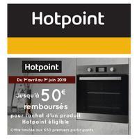 Offre de Remboursement Hotpoint : Jusqu'à 50€ Remboursés sur Produit Cuisson