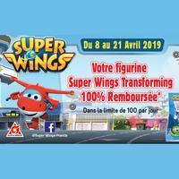 Offre de Remboursement Super Wings : Votre Figurine Transforming 100% Remboursé