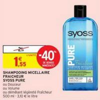Shampooing ou Après-Shampooing Syoss chez Intermarché (24/04 – 05/05)