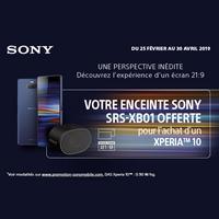 Bon Plan Sony : Enceinte Bluetooth Offerte