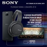 Bon Plan Sony : Casque Bluetooth Offert