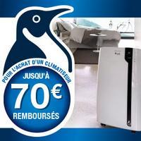 Offre de Remboursement DéLonghi : Jusqu'à 70€ sur Climatiseur Monobloc