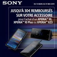 Offre de Remboursement Sony : Jusqu'à 30€ Remboursés sur Accessoire
