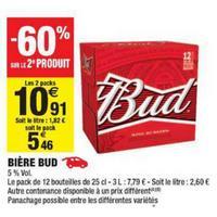 Bière Bud chez Carrefour Market (09/04 – 05/05)